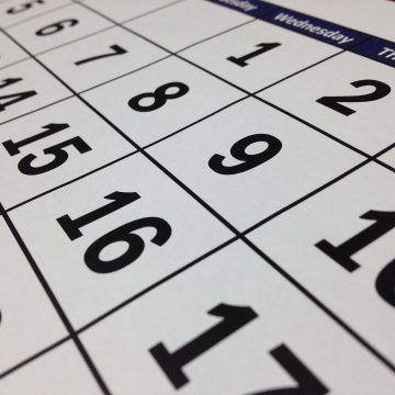 Belgium : VAT Calendar 2021